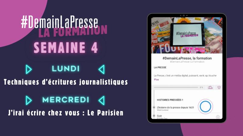 #DemainLaPresse la Formation dévoile les techniques d'écriture journalistique !