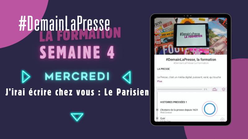 #DemainLaPresse la Formation s'invite à la rédaction du Parisien