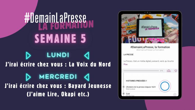 #DemainLaPresse la Formation explore la rédaction de La Voix du Nord et Bayard Jeunesse  !